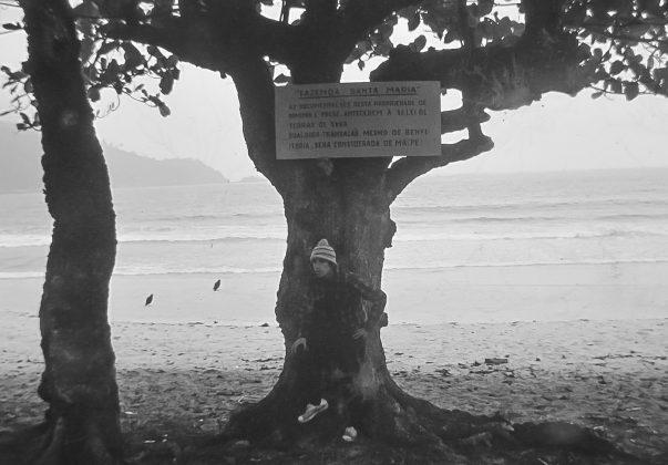 Bruno Alves quando chegou pele primeira vez na fazenda Santa Maria, a praia do Sono, e foi logo em seguida expulso. Foto Pacile?iu Trindade (RJ)