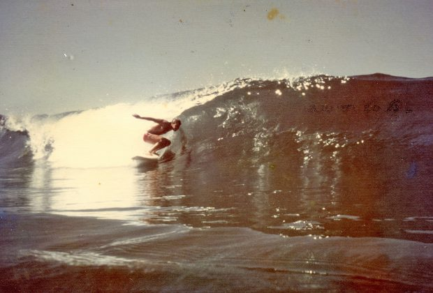 Carioca na?o identificado que apareceu para surfar durante a caravana ecolo?gica