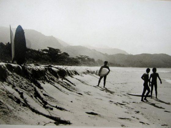 Praia 1977. Madureira, Romeu e Fernando Mesquita