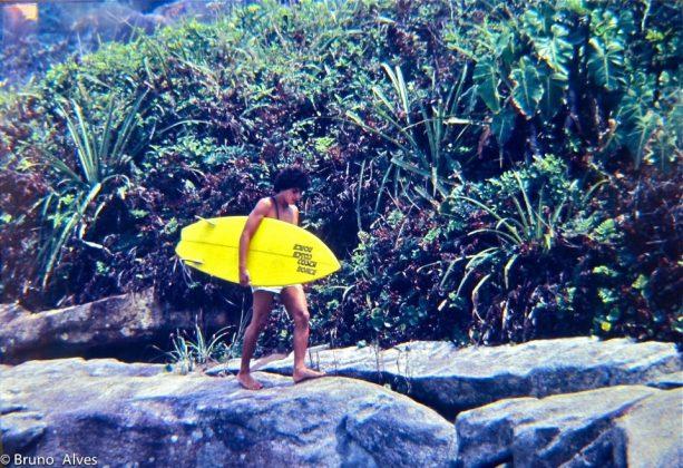 Albertinho com sua Costa Norte ano 79 descendo as pedras do Cepilho