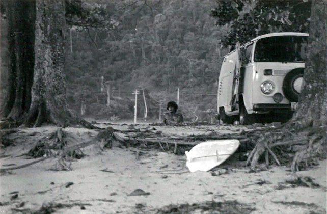 Jorge Pacelli em Laranjeiras, 1978 . Foto: Alberto Alves.