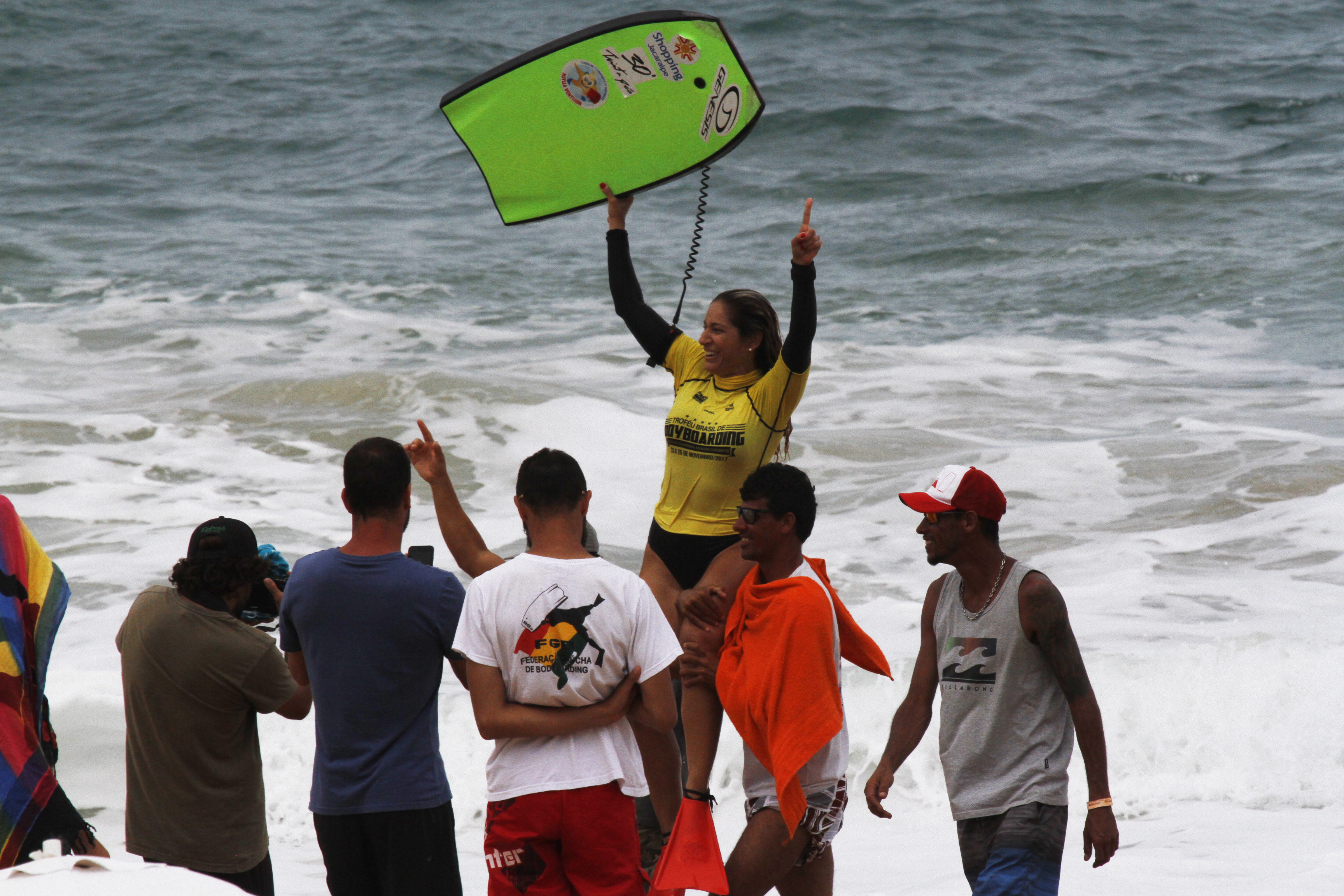 Troféu Brasil marca o resgate do Circuito Brasileiro de Bodyboarding.