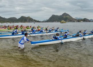 1º Campeonato de Stand UP e Canoa Havaiana