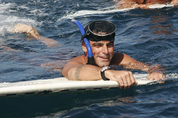 Leo Neves, Billabong Pro 2007, Teahupoo, Tahiti. Foto: Aleko Stergiou.